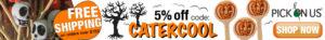 Halloween Leaderboard Ad